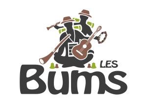 01 - Les Bums - Logo quadri fond clair