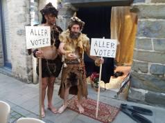 Week end électoral avec le GIS