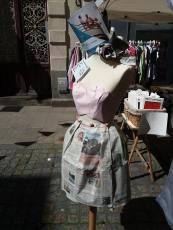Vêtement de papier